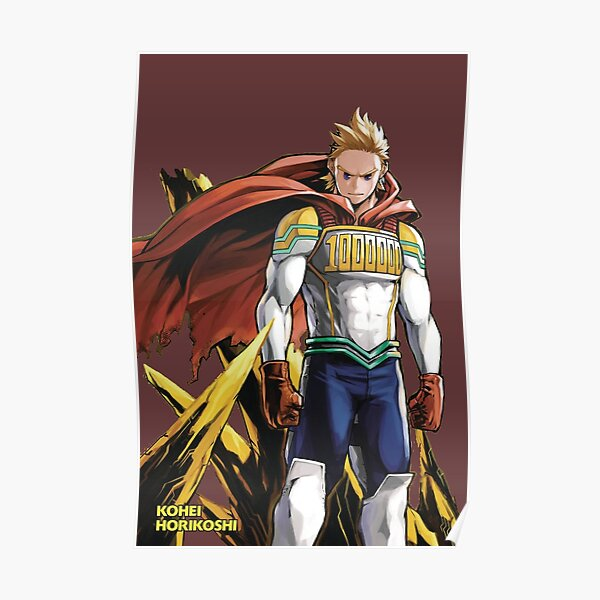 Mirio Togata From Boku No hero Academia Poster