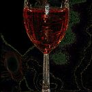 Red Wine X by Rick Baber