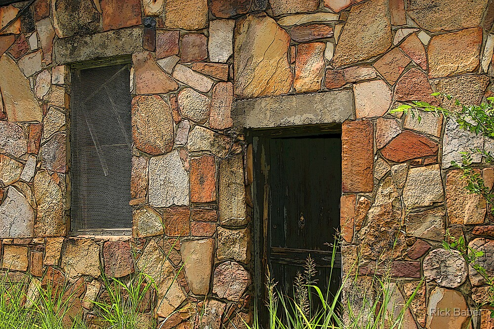 Rock Building at Cedarville by Rick Baber
