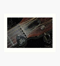 Sigma Guitar Art Print