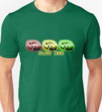 Slug Bug Red Yellow Green Volkswagen Unisex T-Shirt