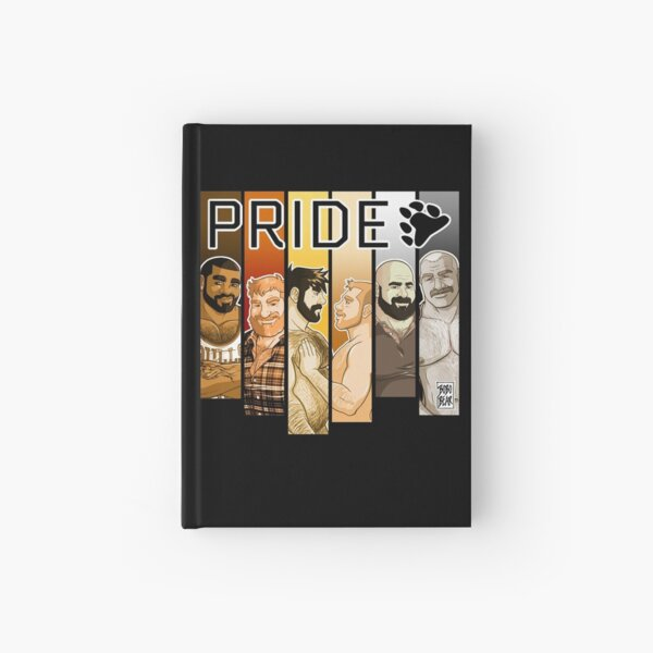 BEAR PRIDE 2019 Hardcover Journal