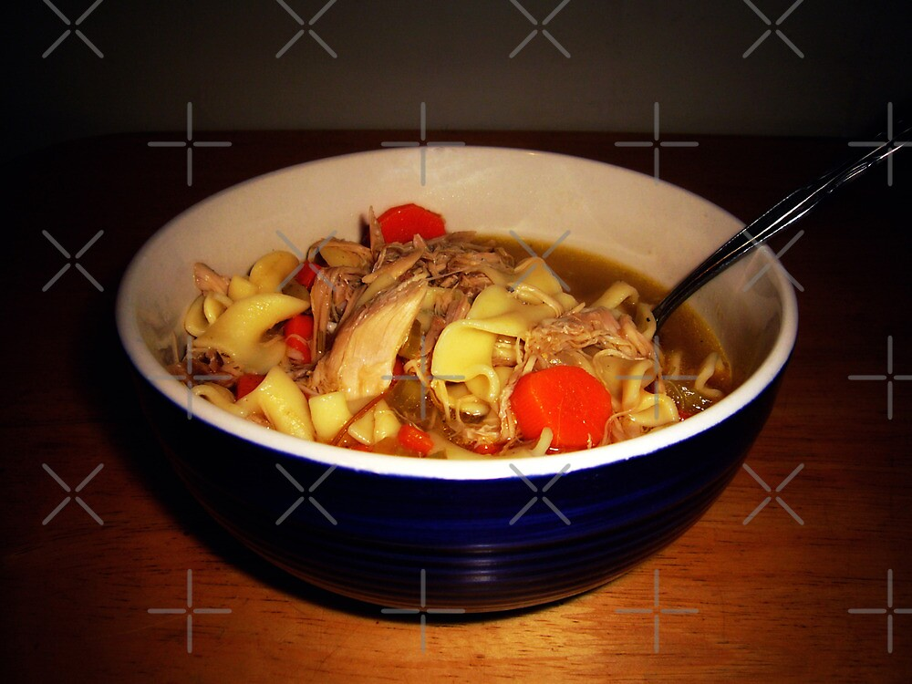 Turkey Noodle Soup by FrankieCat