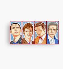 The Four Doctors Canvas Print