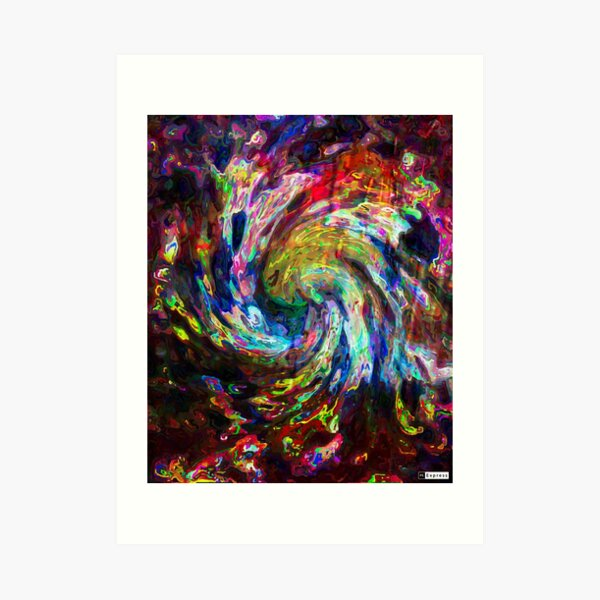 Passion Ignited Art Print