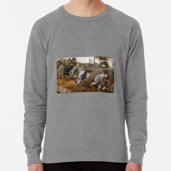 The Blind Leading the Blind, The Parable of the Blind Lightweight Sweatshirt
