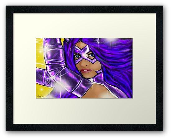 Purple Hunt by loflor73
