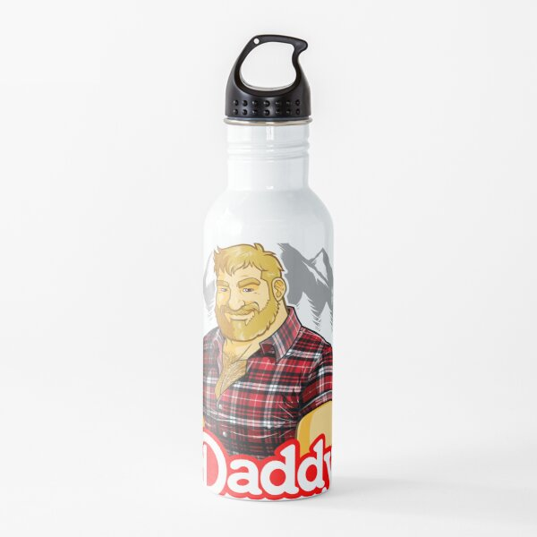 DADDY MIKE LIKES THE MOUNTAIN Water Bottle
