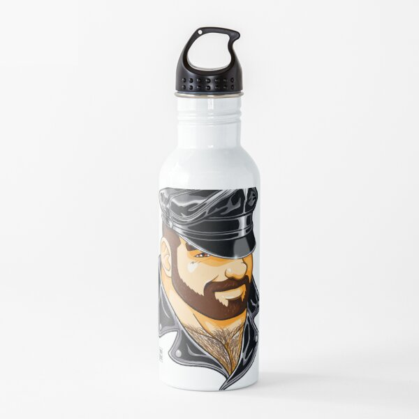 ADAM LIKES LEATHER Water Bottle