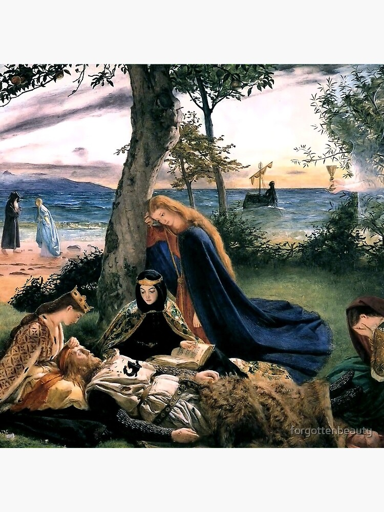 The Death of King Arthur - James Archer 1860 by forgottenbeauty