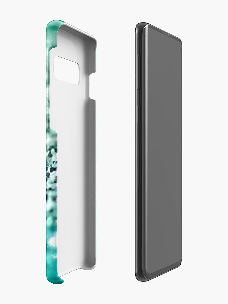 Vista alternativa de Funda y vinilo para Samsung Galaxy Aqua Glitter