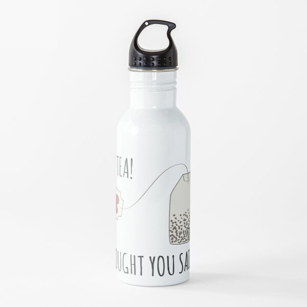Funny Occupational Therapy Tea Lover Design Water Bottle