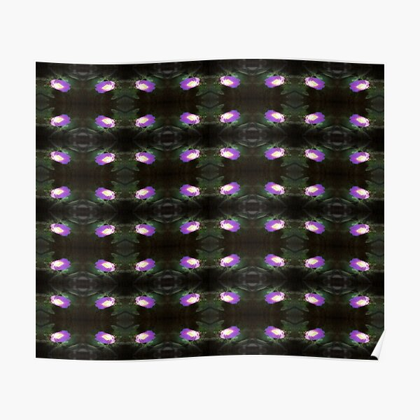glowing old fashioned rose elegance pattern 2 Poster