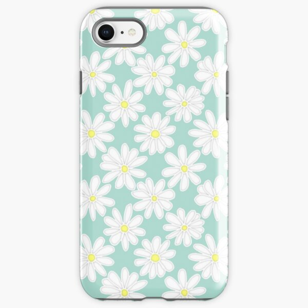 Bright Happy Daisies on Mint iPhone Tough Case
