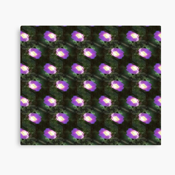 glowing old fashioned rose elegance pattern Canvas Print