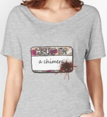 Hello I'm [a Chimera] Women's Relaxed Fit T-Shirt