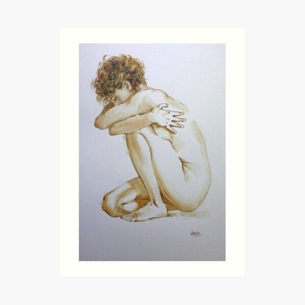 """""""The Hug""""  Art Print"""