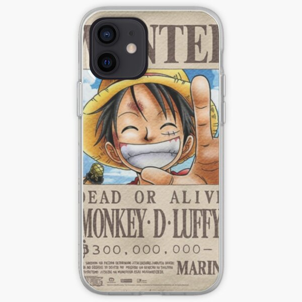 Luffy voulait poster Coque souple iPhone