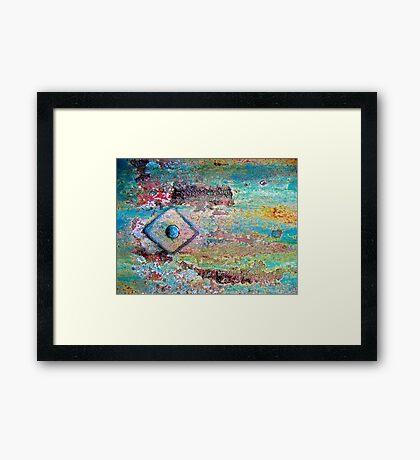 Diamonds and Rust Framed Print