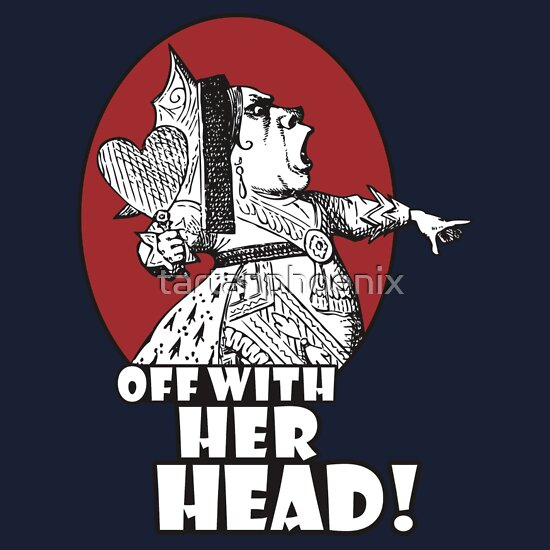 Quot Off With Her Head Logo Quot T Shirts Amp Hoodies By
