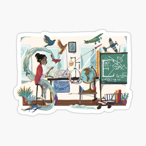 Google Doodle - STEM logo Sticker