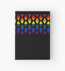 Band of Pride Triangles Hardcover Journal