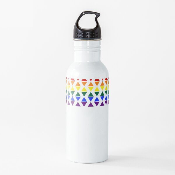 Band of Pride Triangles Water Bottle