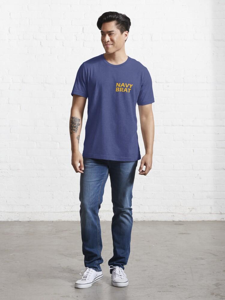 Alternate view of Navy Brat  Essential T-Shirt