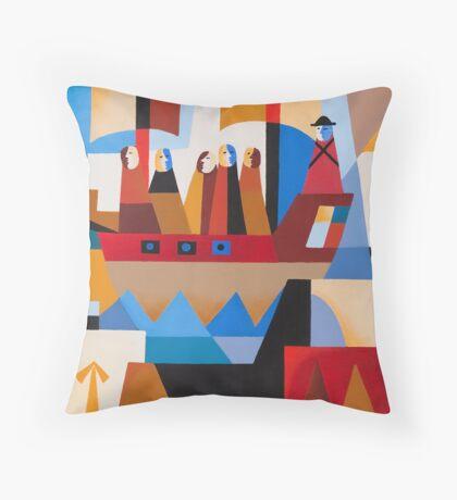 VAN DIEMENS LAND CONVICTS Throw Pillow