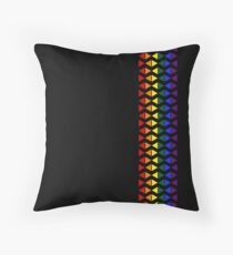 Vertical Band of Pride Triangles Floor Pillow