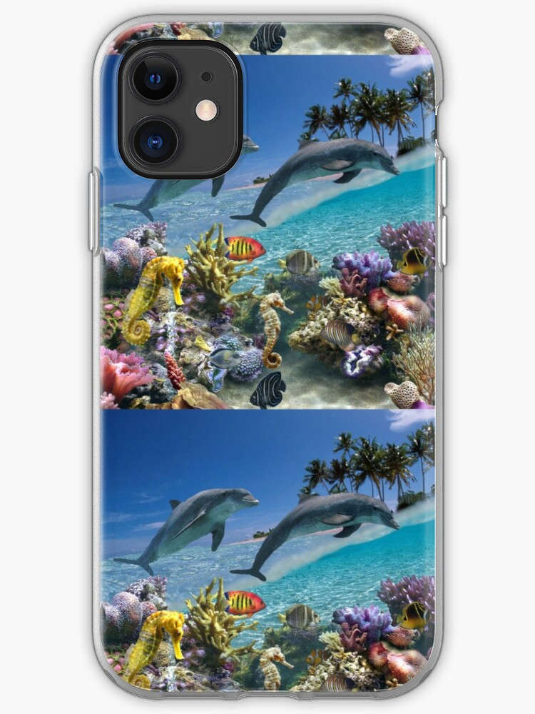 Coral reef iPhone 11 case