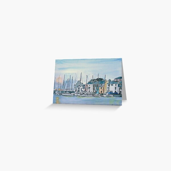 A Postcard from Weymouth Harbour Greeting Card