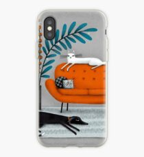 ORANGE SOFA iPhone-Hülle & Cover
