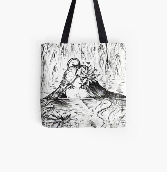 Swamp Light All Over Print Tote Bag