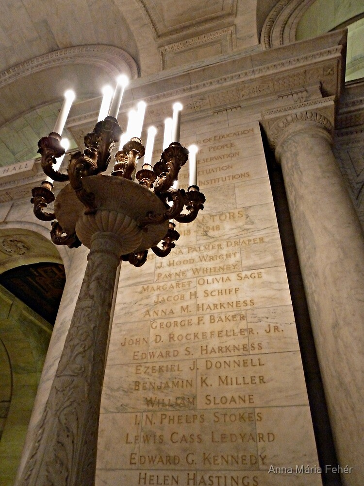New York Public Library-Interior by BellaButterfly
