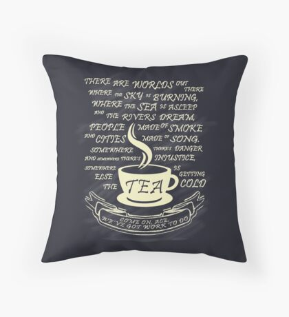Come on Ace Throw Pillow
