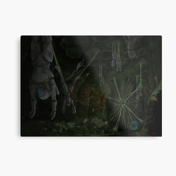 Hive Chamber A Tunnel Metal Print