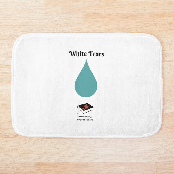 White Tears Bath Mat