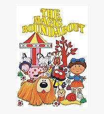 The Magic Roundabout Photographic Print