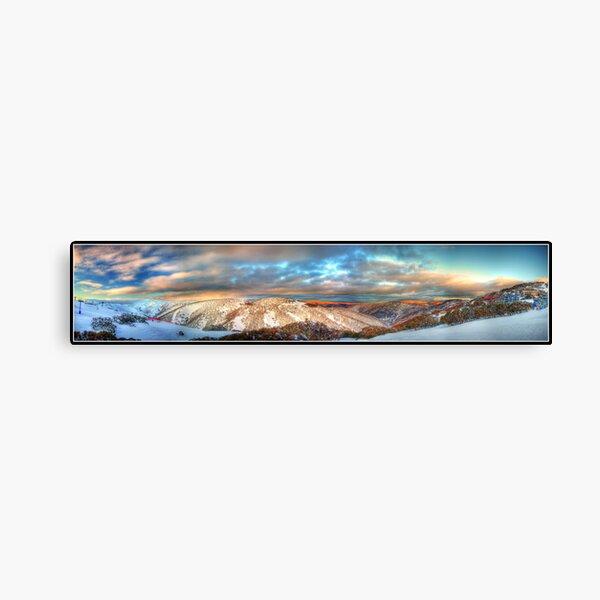 Mt Hotham Panorama Canvas Print