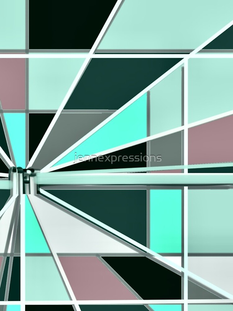 Zooming Teal by jennexpressions