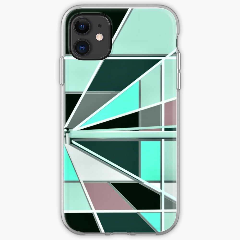 Zooming Teal iPhone Case & Cover