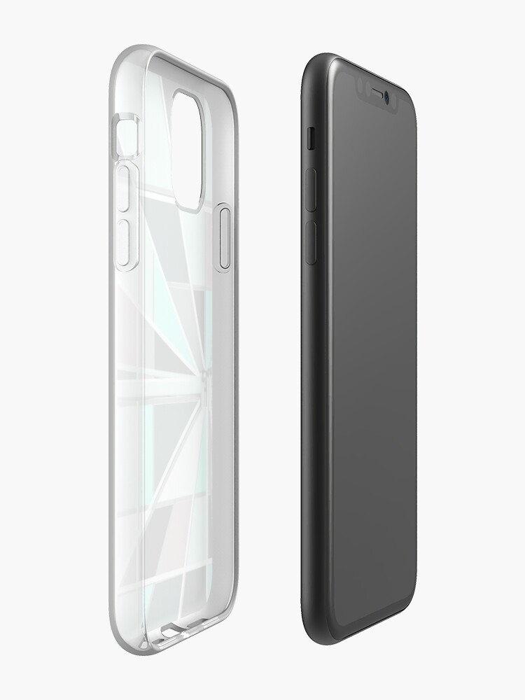 Alternate view of Zooming Teal iPhone Case & Cover