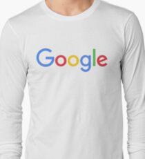 New Google Logo Long Sleeve T-Shirt