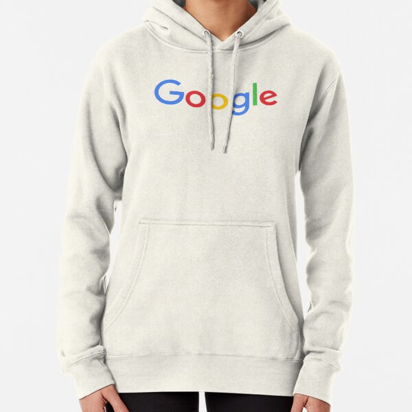 New Google Logo Pullover Hoodie