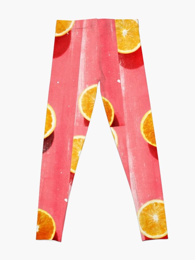 Alternate view of fruit 5 Leggings