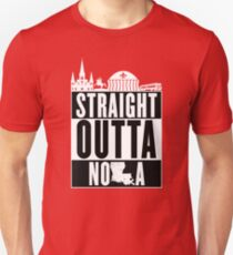 Straight Outta NOLA Unisex T-Shirt