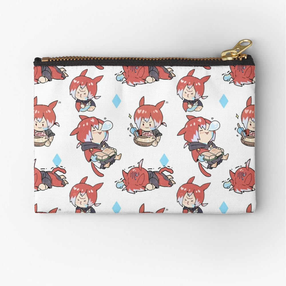 Crystal Exarch Zipper Pouch