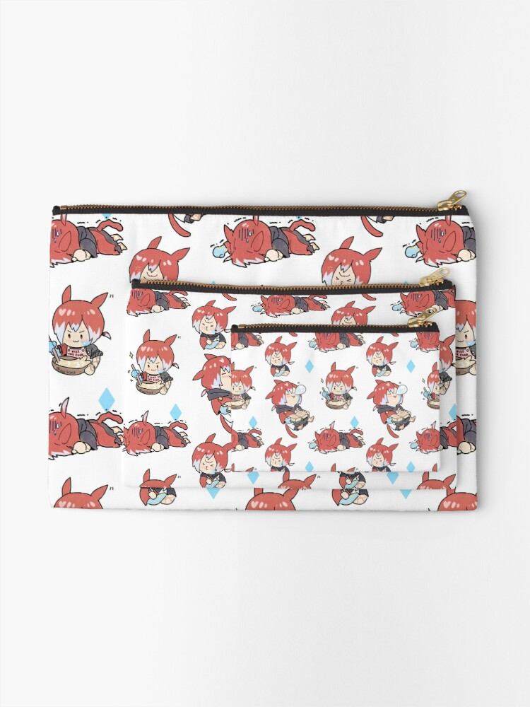 Alternate view of Crystal Exarch Zipper Pouch