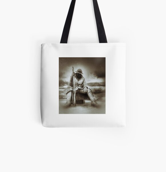 Tommy All Over Print Tote Bag